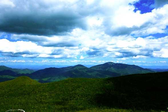 Randonnée dans les Adirondacks - Big Slide Mountain