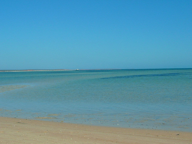 Monkey Mia, plage, Western Australia