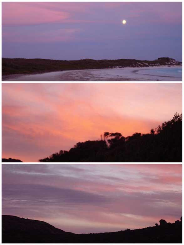 Esperance, Coucher de soleil Australie