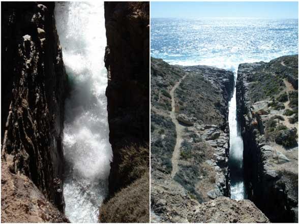 whalers way Theakstone's Crevasse Australie