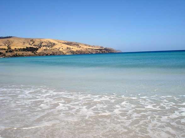 Australie plage Kangaroo Island