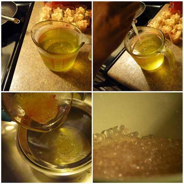 Bille de miel moleculaire, cuisine moléculaire
