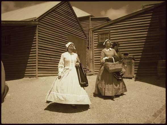 Sovereign Hill Femme tenue d'époque