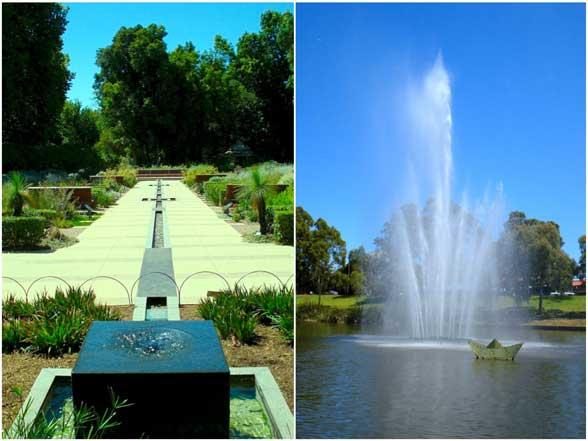 Adélaïde Australie Jardin botanique