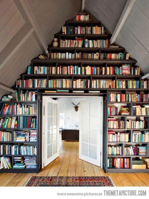 bibliothèque de rêve
