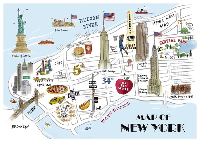 Carte De Visite New York