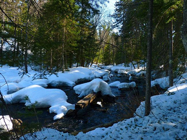 riviere neige