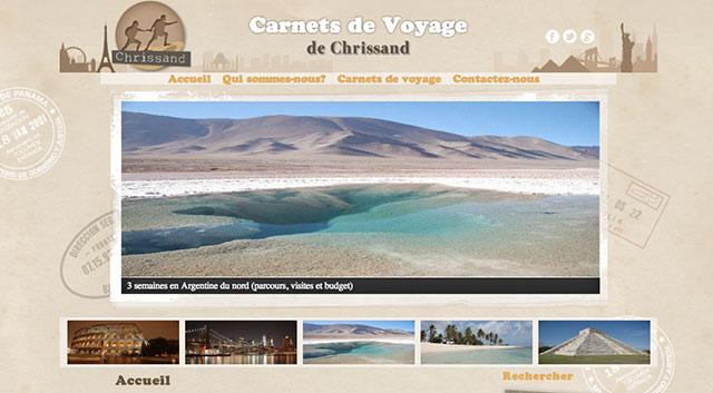 chrissand voyage