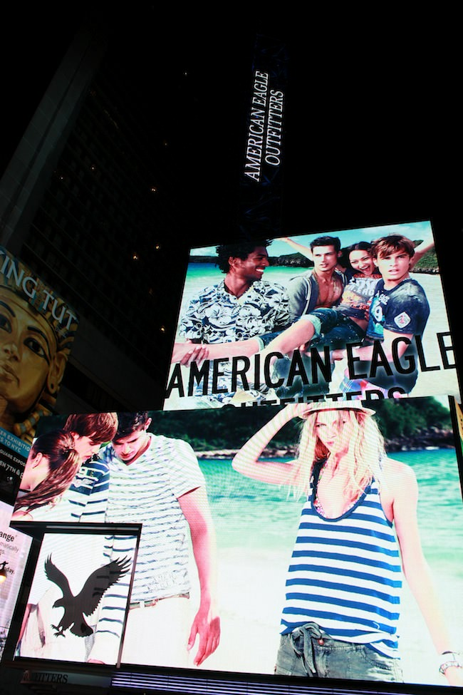 american eagle time square