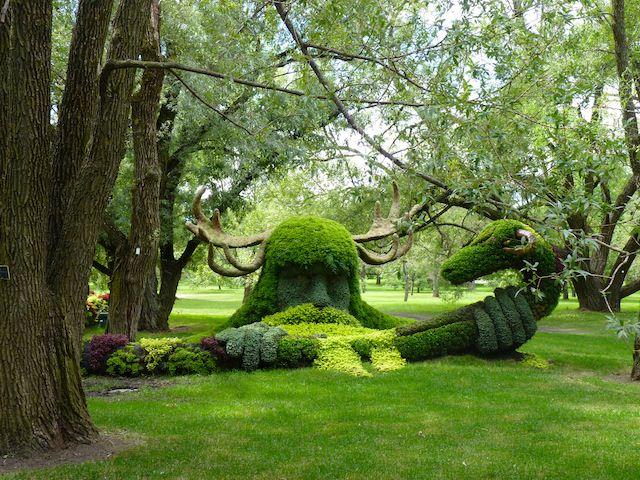 mosaicultures montreal sculptures plantes