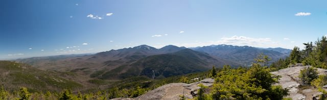 panorama giant mountain adirondacks