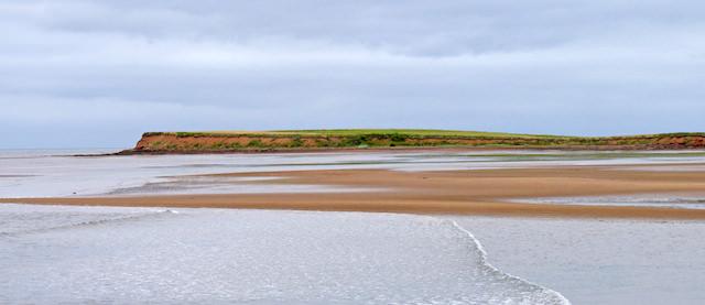 plage rouge ile du prince edouard
