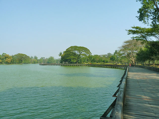 birmanie yangon parc