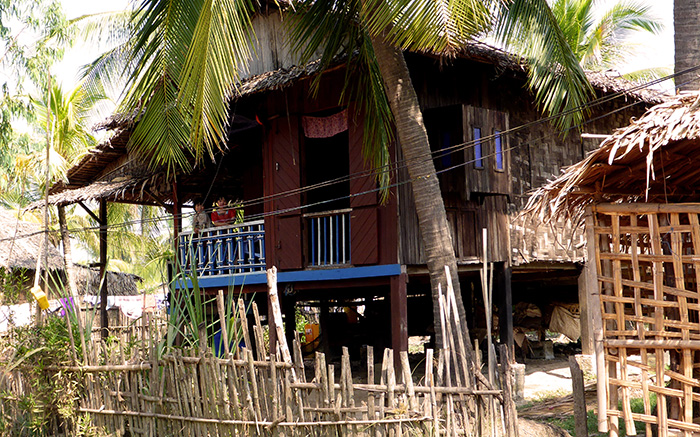 Maison typique Birmanie Bilu Gyun