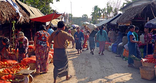 Mawlamyine Myanmar  city pictures gallery : Marché Mawlamyine Myanmar