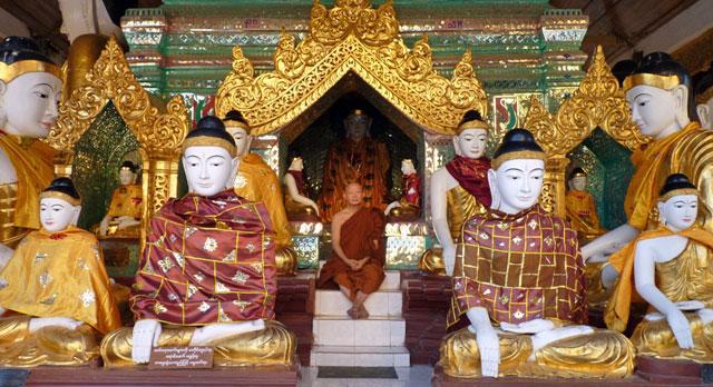 pagode shwedagon myanmar