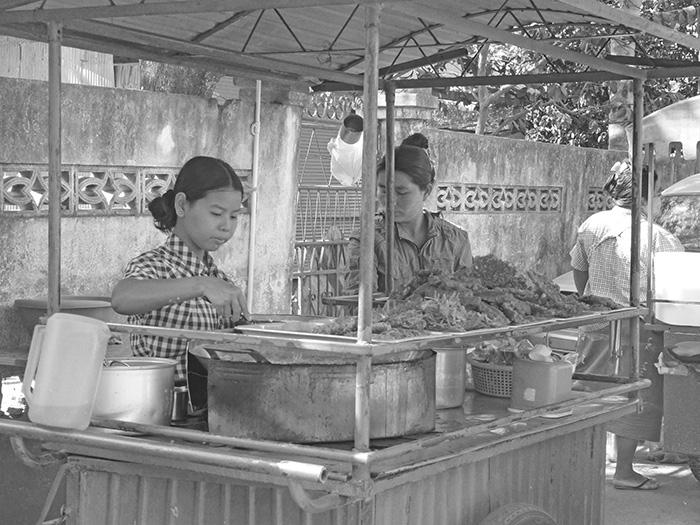 Mae Sai Frontière birmane