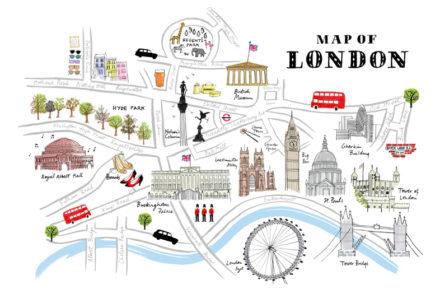 carte de Londres