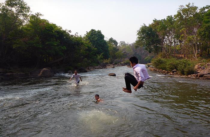 Laos vie locale