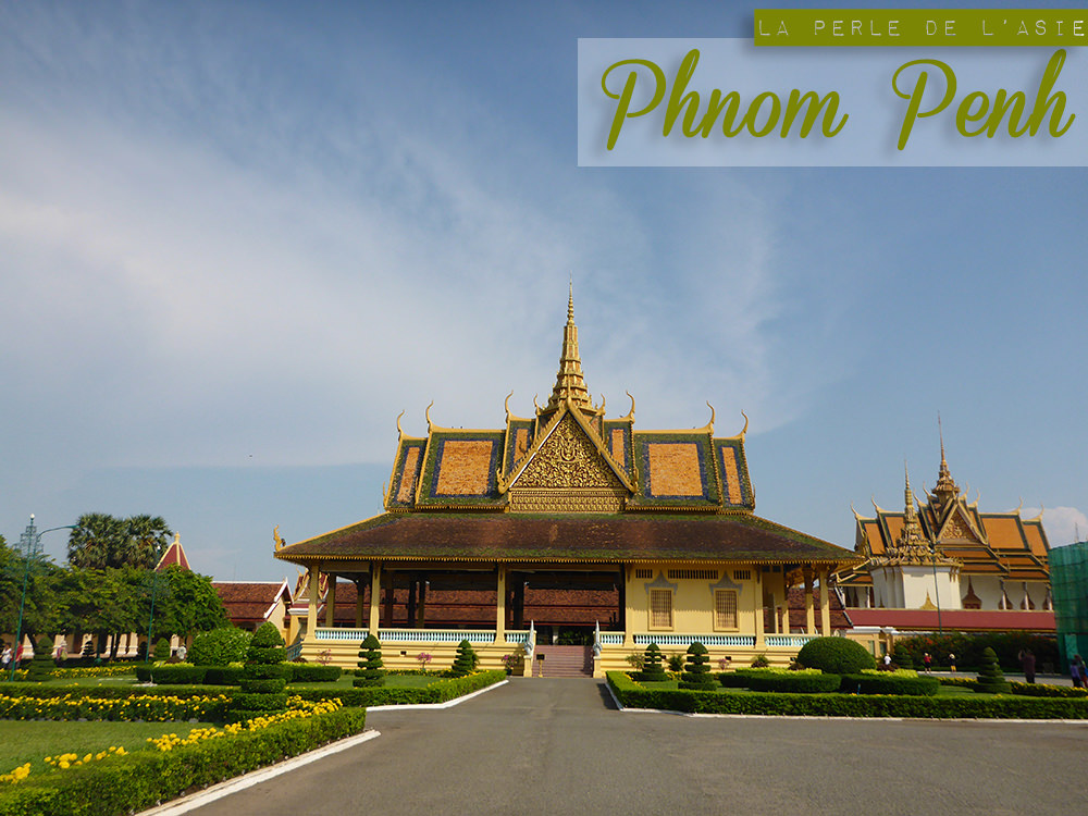 Phnom Penh Palais Royal, Cambodge