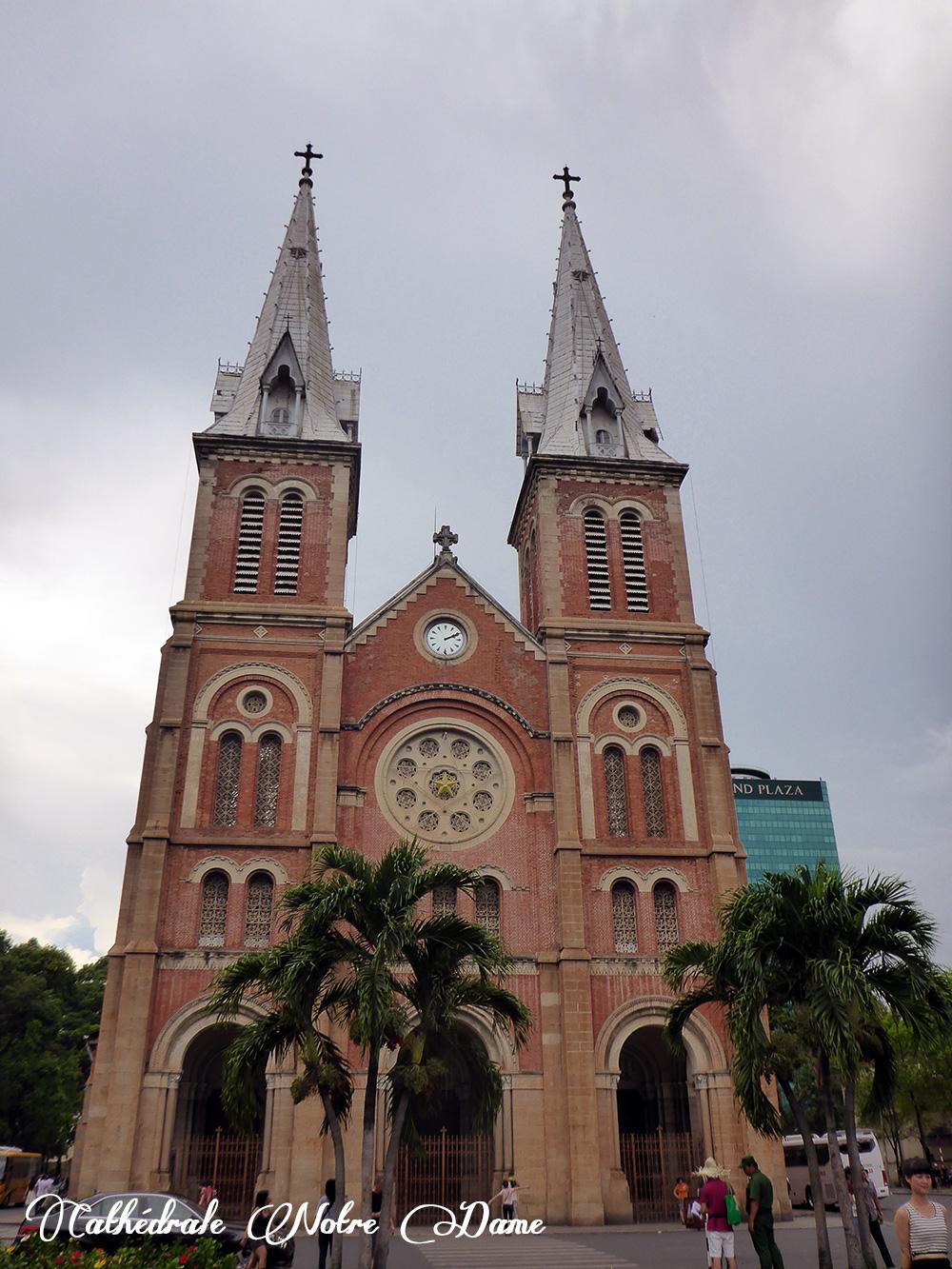 Cathédrale Notre Dame, Hô-Chi-Minh-Ville, Vietnam