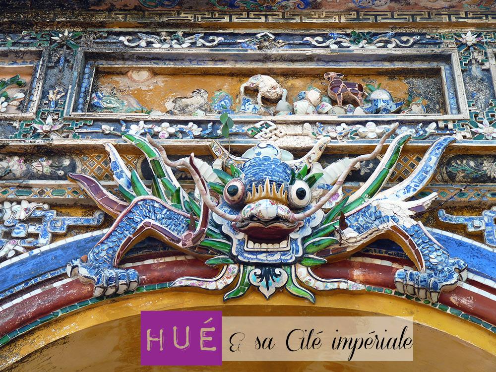 Hué, cité impériale du Vietnam. Classée au patrimoine mondiale de l'UNESCO