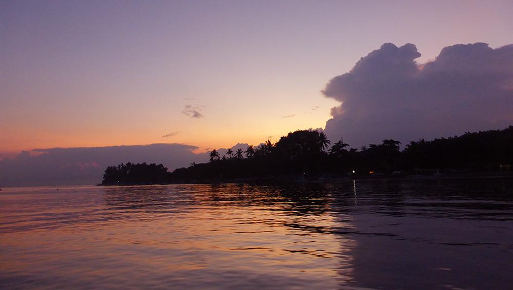 Lovina, Coucher de Soleil, Bali