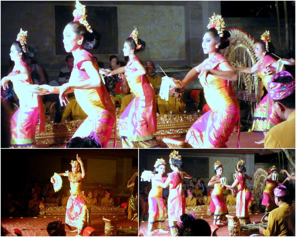 Spectacle de danse, Ubud, Bali