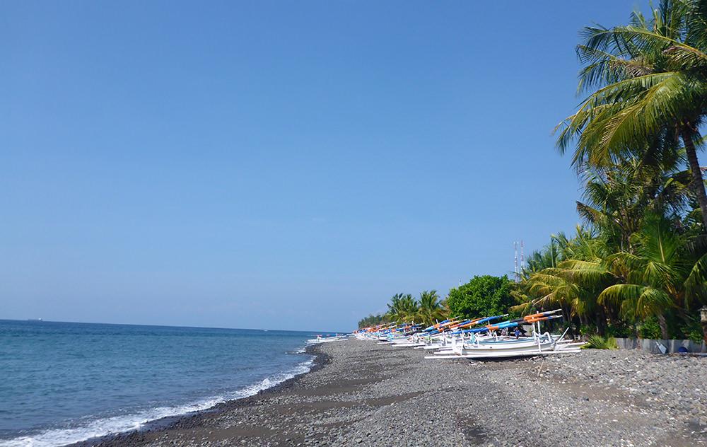 Ahmed plage, Bali, Indonésie