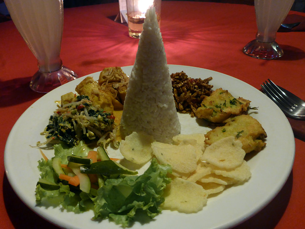 Cuisine balinaise, Ubud, Indonésie