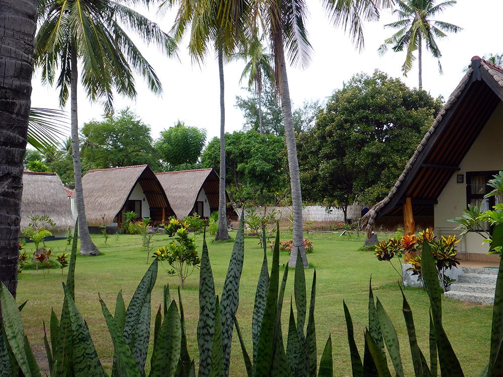 Indonésie, Gili Air, hotel