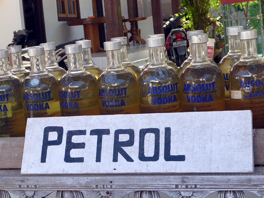 Petrol Absolute Vodka Bali