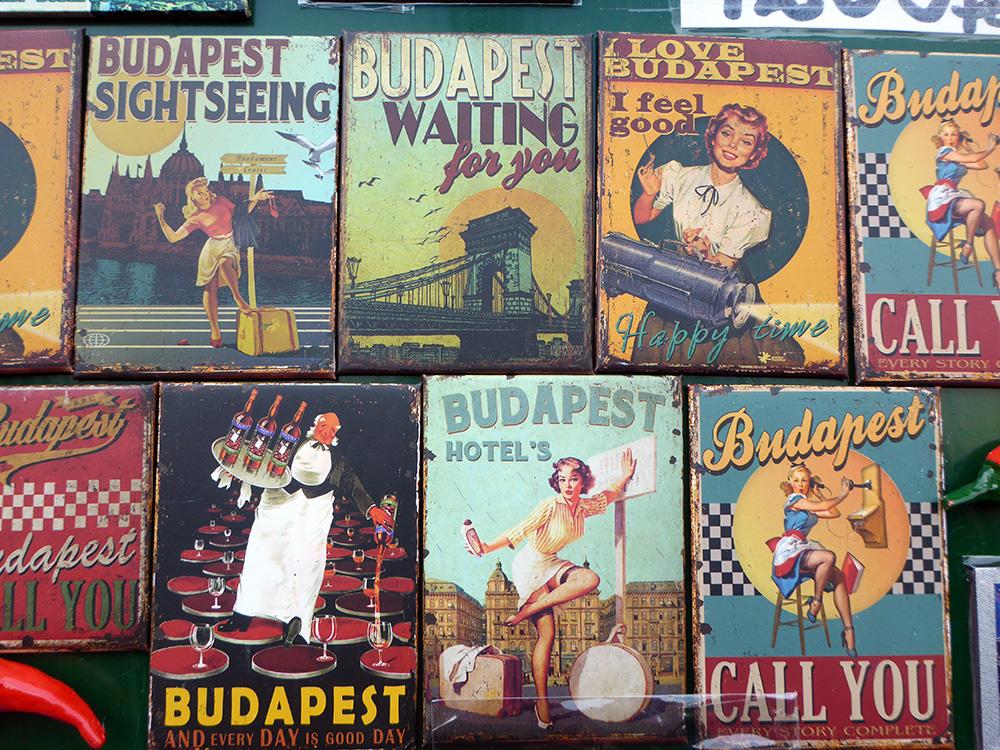 Images Vintage à Budapest