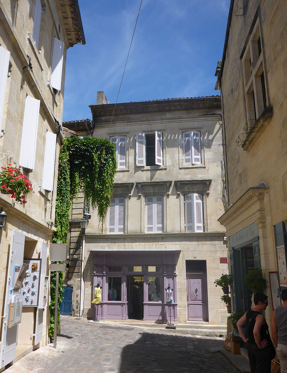 Découverte de Saint-Emilion, région de Bordeaux