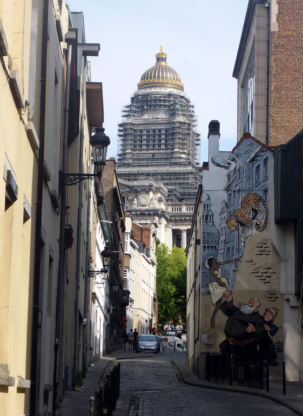 BD et Street Art à Bruxelles : Odilon