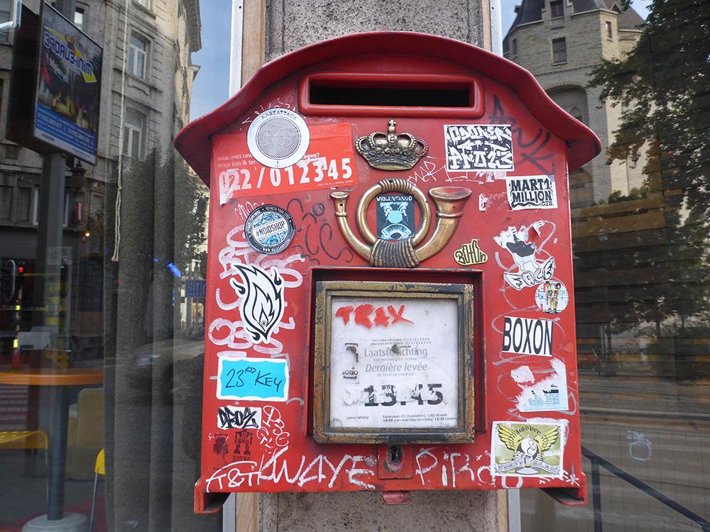Boite aux lettres Belge