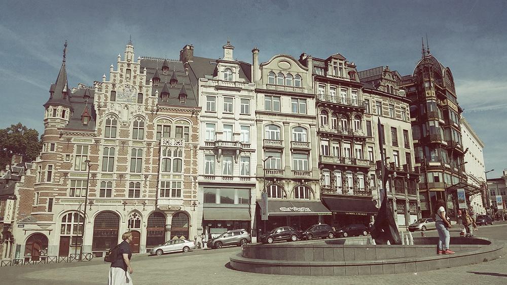 Dans les rues de Bruxelles- Architecture