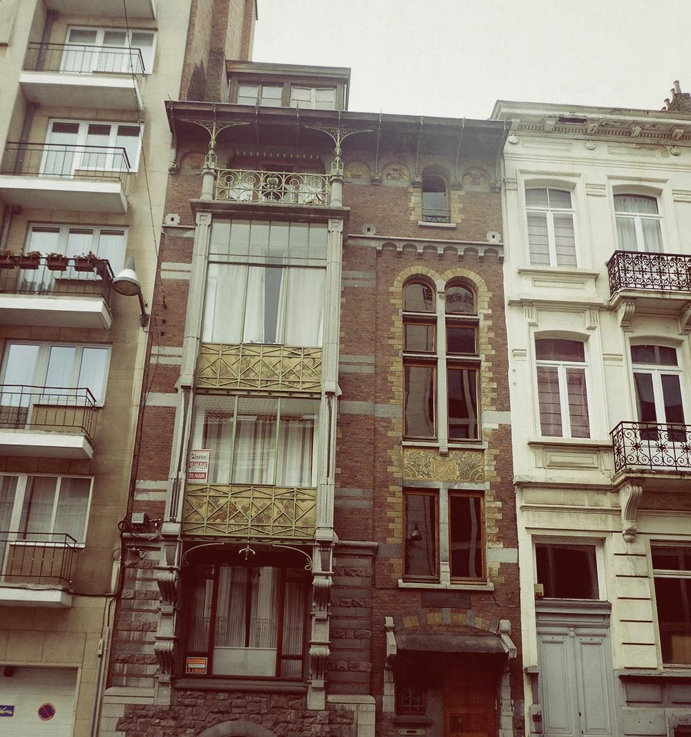 Dans les rues de Bruxelles
