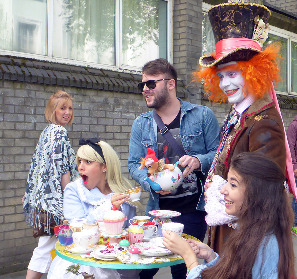 Alice In Wonderland, Notting Hill, Londres