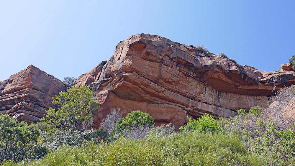 Empreintes de dinosaures Lesotho