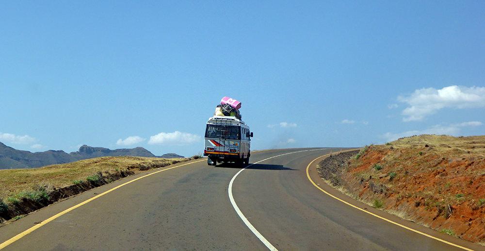 Route Lesotho bus