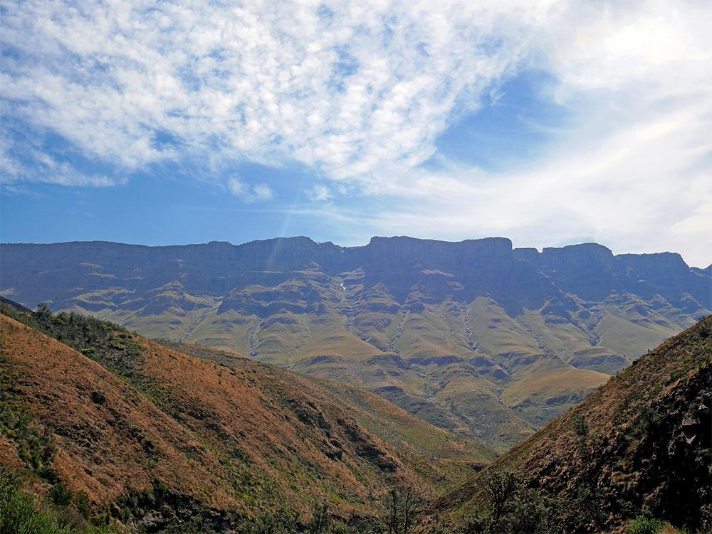 Route Sani Pass Afrique du Sud
