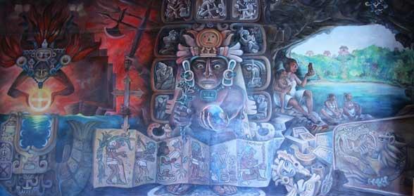Tableau Maya Valladolid Mexique