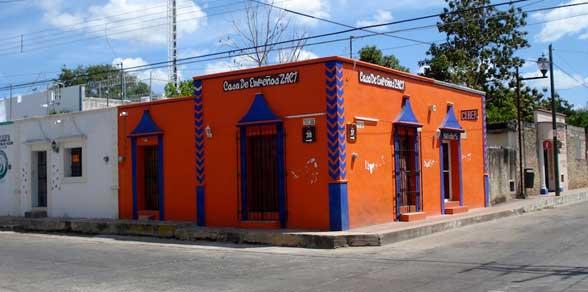 Valladolid maison orange