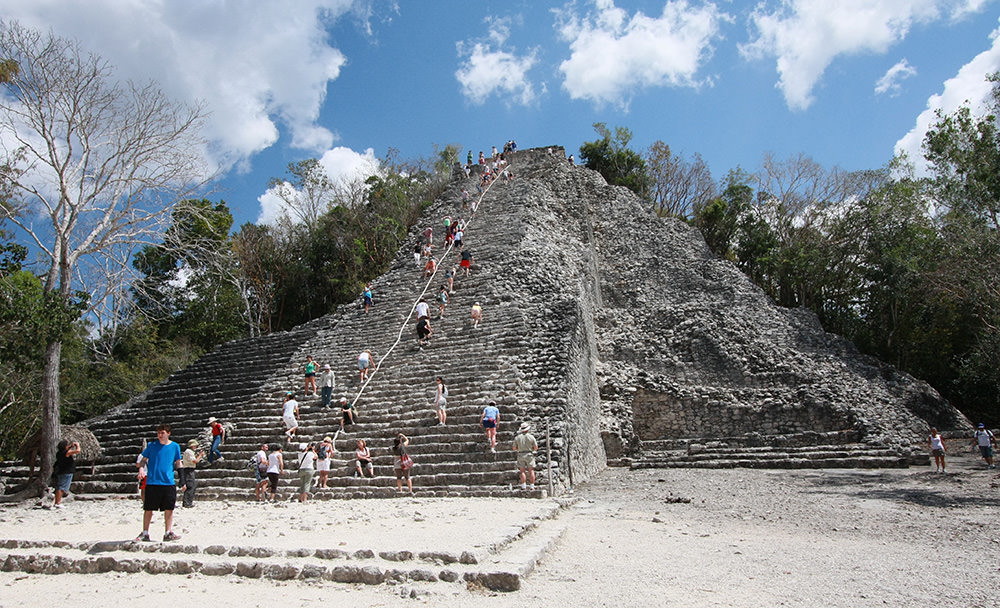 Site archéologique de Coba, Yucatan, Mexique
