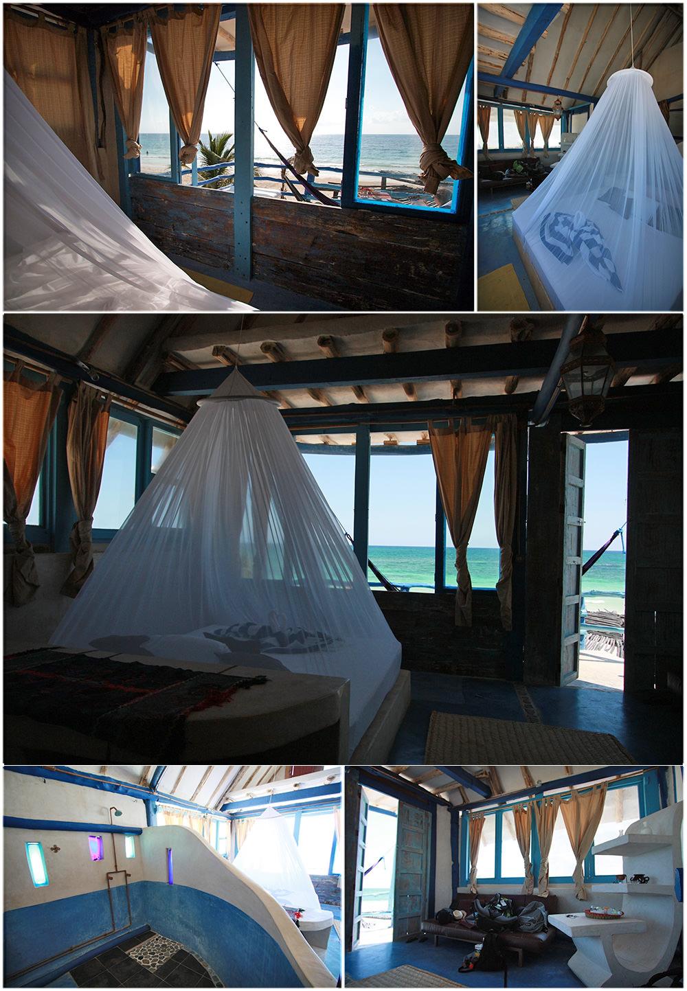 Mon bungalow de rêve au Mexique à l'hôtel Posada Lamar de Tulum