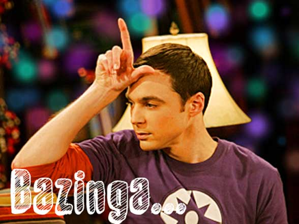 Bazinga Sheldon