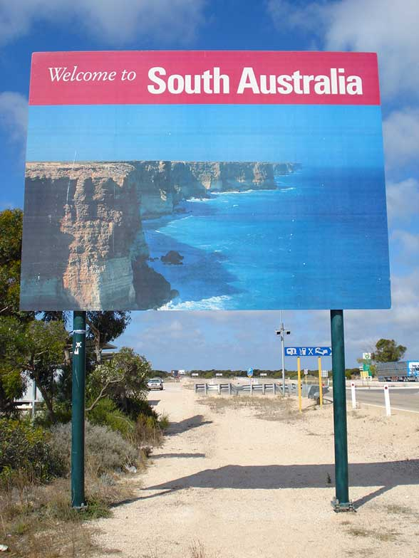 Eucla Frontiere welcome to South Australia