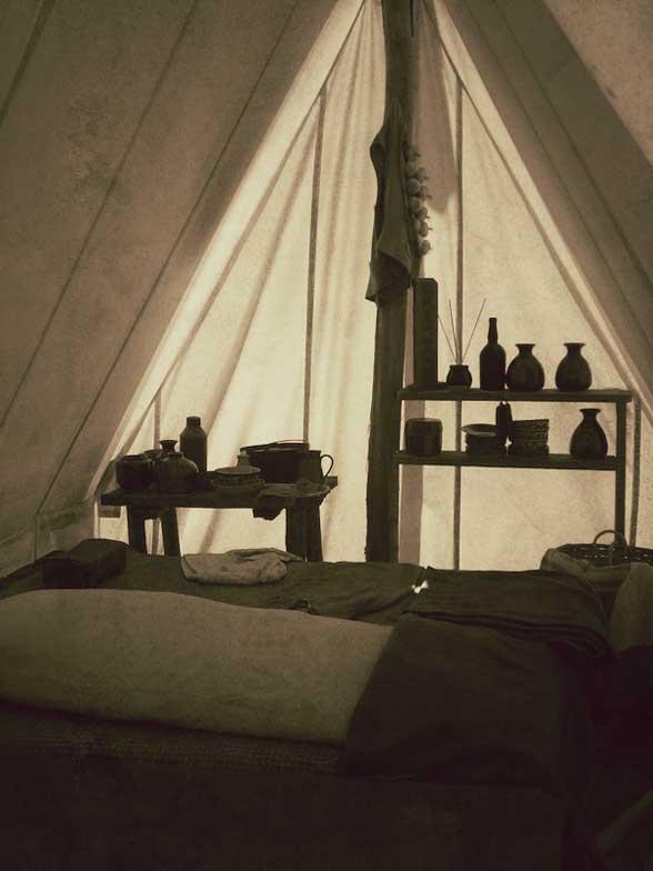 Sovereign Hill Intérieur toile de tente Australie