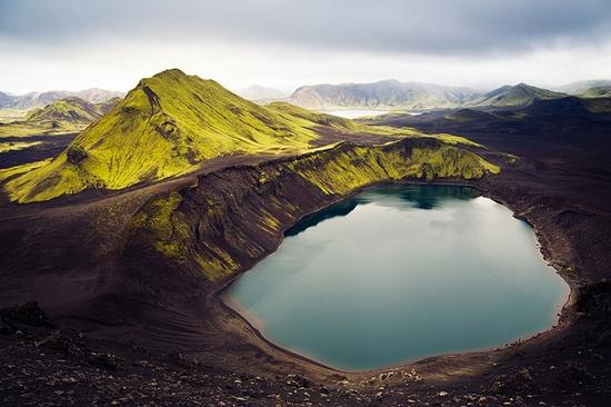 islande lac